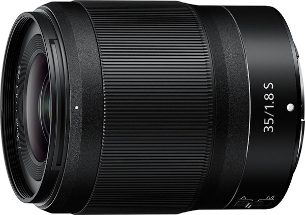 NIKKOR Z 35mm f/1.8 S Product Image