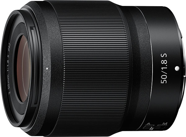 NIKKOR Z 50mm f/1.8 S Product Image