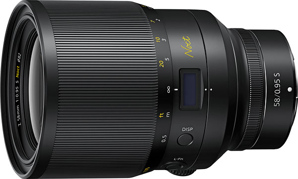 NIKKORZ 58mm f/0.95 S Noct Review -- Product Image