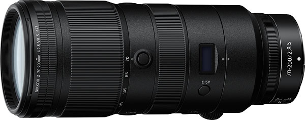 NIKKOR Z 70-200mm f/2.8 VR S Review -- Product Image