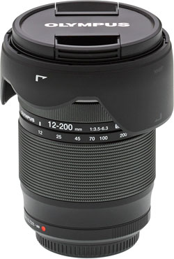 Olympus 12-200mm f/3.5-6.3 Review -- Product Shot