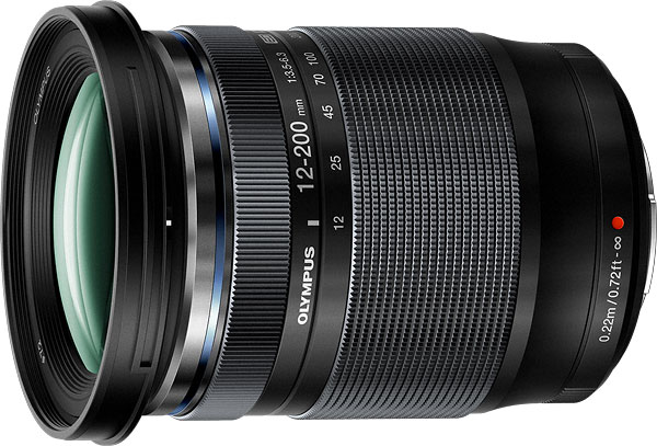 Olympus M.Zuiko Digital ED 12-200mm F3.5-6.3 Lens Review -- Product Image