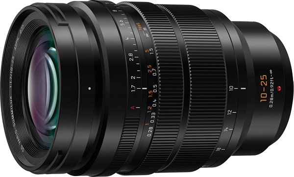 Panasonic  LEICA DG VARIO-SUMMILUX 10-25mm / F1.7 ASPH Review -- Product Image
