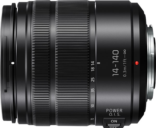 Panasonic 14-140mm f/3.5-5.6 II Review -- Product Image