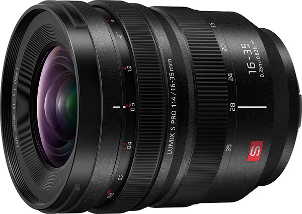 Panasonic LUMIX S PRO 16-35mm F4 Review -- Product Image