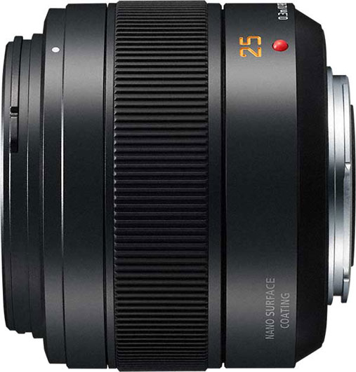 LEICA DG SUMMILUX 25mm / F1.4 II ASPH Product Image