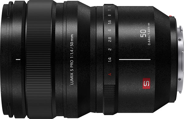 Panasonic LUMIX S PRO 50mm F1.4 Review -- Product Image