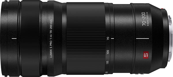 Panasonic LUMIX S PRO 70-200mm F4 O.I.S. Review -- Product Image