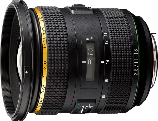 HD PENTAX-DA* 11-18mm F2.8ED DC AW Review -- Product Image