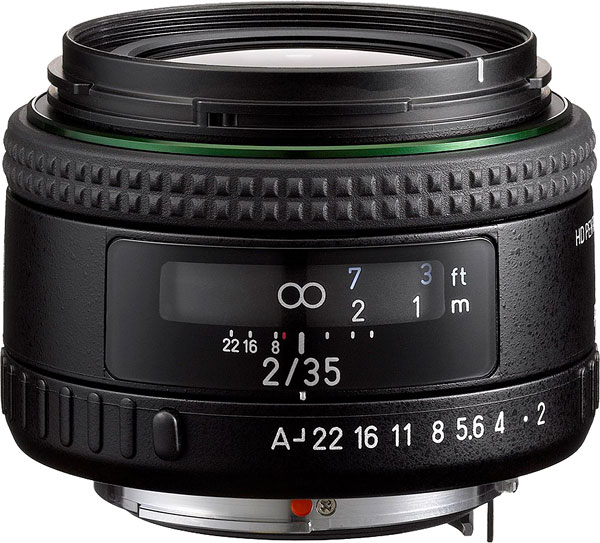 HD PENTAX-FA 35mm F2 Review -- Product Image