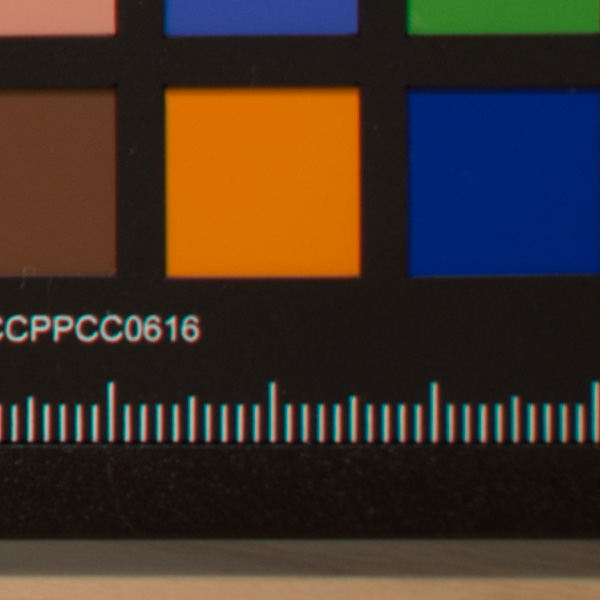 Sigma 100-400mm f/5-6.3 DG OS HSM Contemporary Review: Field Test -- Chromatic Aberration Test Image