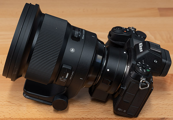 Sigma 105mm f/1.4 DG HSM Art Review -- Product Image