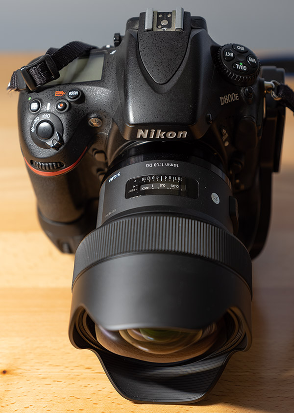 Sigma 14mm f/1.8 DG HSM Art Review -- Product Image