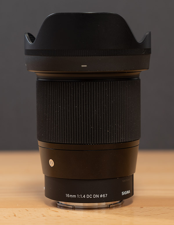 Sigma 16mm f/1.4 DC DN Contemporary Review -- Product Image