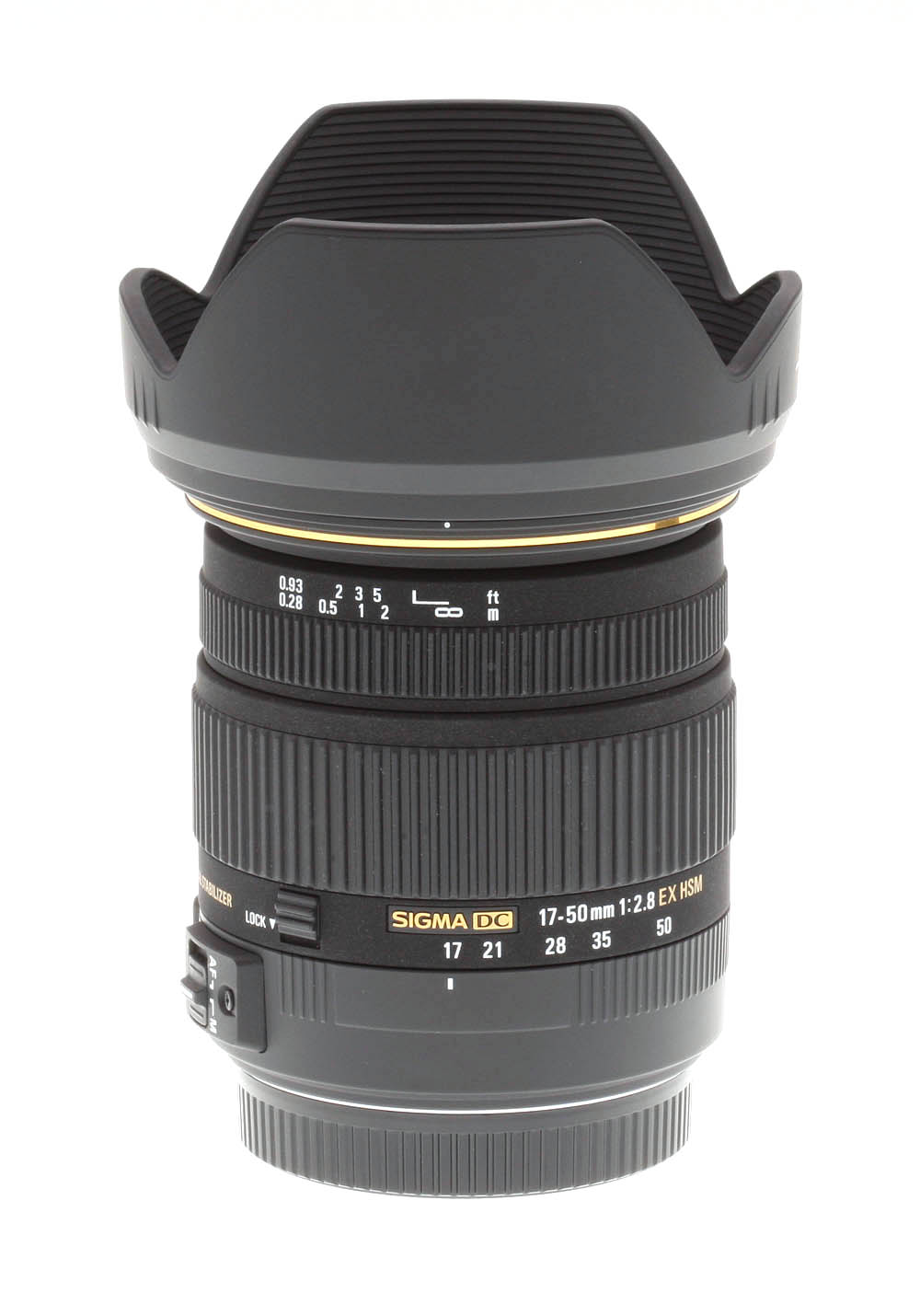 Nikon Af 50mm F14d Sigma 17 F 28 Ex Dc Os Hsm Review Product Photos