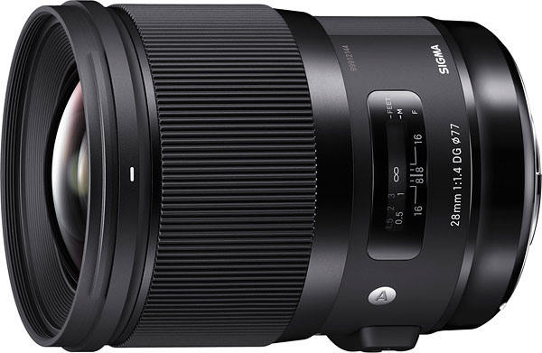 SIGMA 28mm F1.4 DG H Art Review -- Product Image