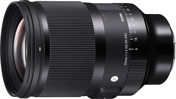 Sigma 35mm f/1.2 DG DN Art Review -- Product Image