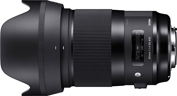 SIGMA 40mm F1.4 DG H Art Review -- Product Image