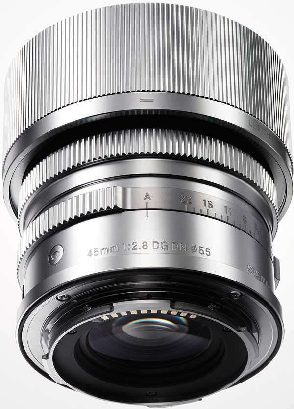 SIGMA 45mm F2.8 DG DN Contemporary Review -- Product Image