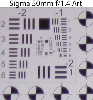 Sigma 50mm f/1 4 DG HSM Art