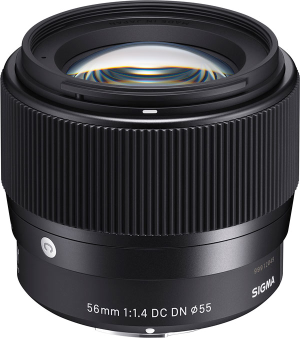 SIGMA 56mm F1.4 DC DN Review -- Product Image
