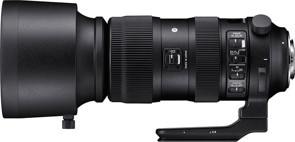 SIGMA 60-600mm F4.5-6.3 DG OS HSM Review -- Product Image