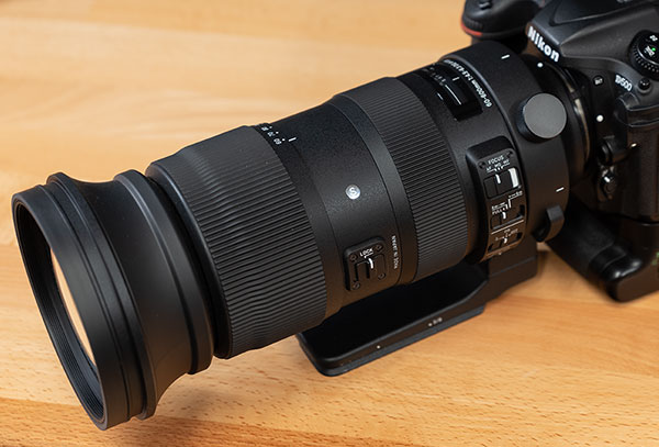 Sigma 60-600mm f/4.5-6.3 DG OS HSM Sport Review -- Product Image