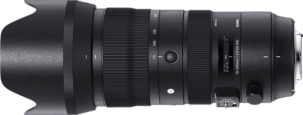 SIGMA 70-200mm F2.8 DG OS HSM Sports Review -- Product Image