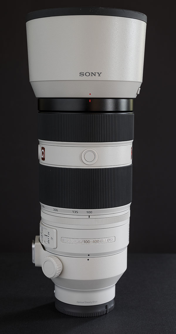 Sony FE 100-400mm f/4.5-5.6 GM OSS Review -- Product Image