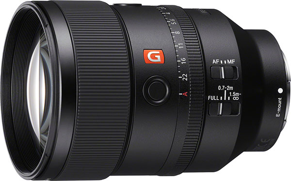 Sony FE 135mm f/1.8 GM Review -- Product Image