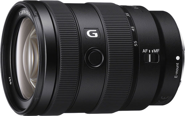 Sony E 16-55mm f/2.8 G Review -- Product Image