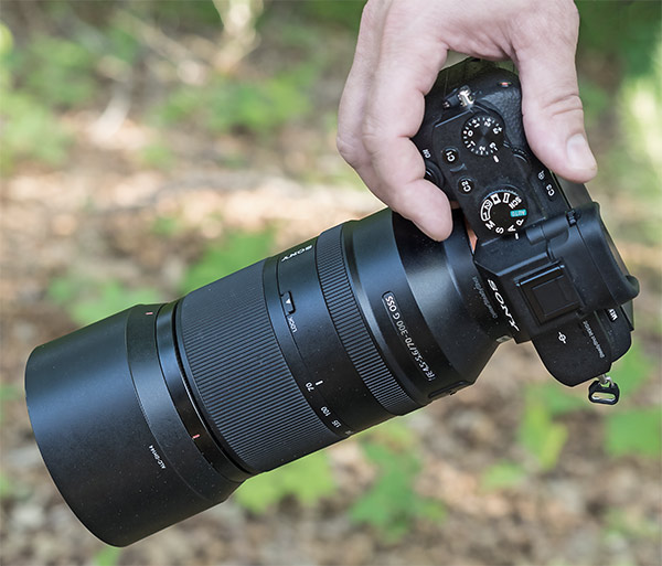 Sony 70-300mm G Review - Product shot