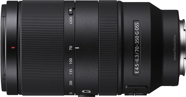 Sony E 70-350mm F4.5-6.3 G OSS Review -- Product Image