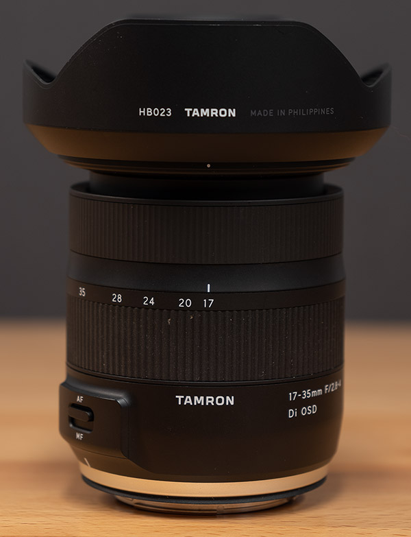 Tamron 17-35mm f/2.8-4 Di OSD Review -- Product Image