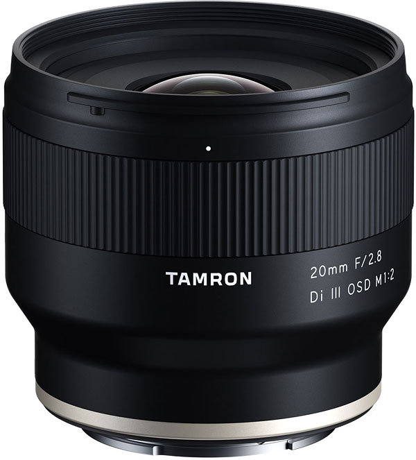 Tamron 20mm f/2.8 Di III OSD M1:2  Review -- Product Image