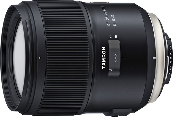 Tamron SP 35mm f/1.4 Di USD Review -- Product Image