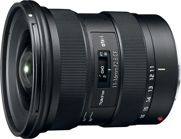 Tokina ATX-i 11-16mm F2.8 CF Review -- Product Image