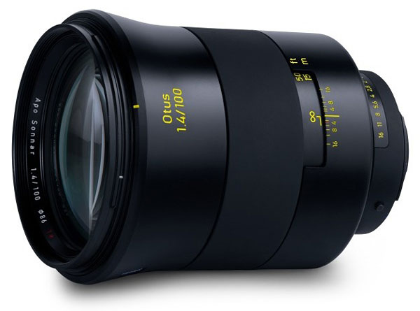 Zeiss 100mm f/1.4 Otus 1.4/100 Review -- Product Image